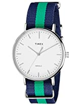 Timex Weekender Fairfield Analog White Dial Unisex Watch - TW2P90800AA