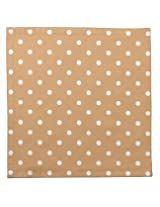 AwesomedaysIn Polka Dots Paper Napkins (Light BROWN)