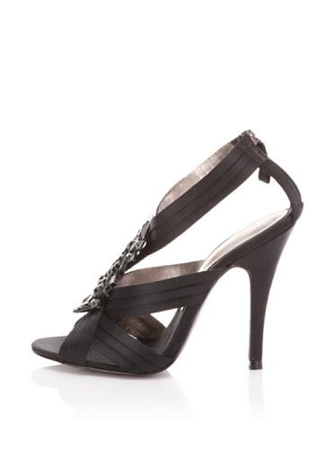 Bourne Women's Drew T-Strap Sandal (Black)