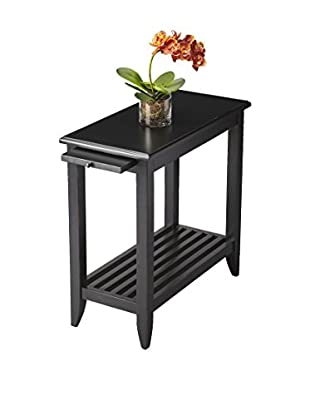 Butler Chairside Table, Black