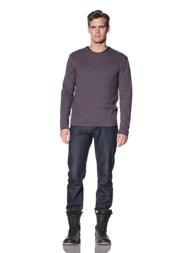 Oliver Rayn Men's Fort Sweater (Rust Blue)