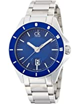 Calvin Klein Blue Dial Men's Watch - K2W21Z4N