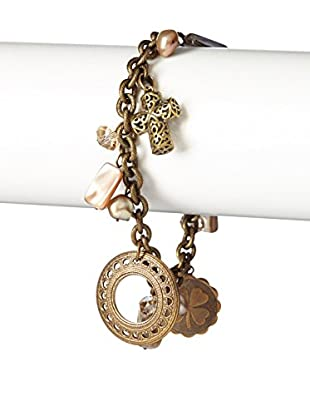 Liz Palacios Pearl Charms Bracelet