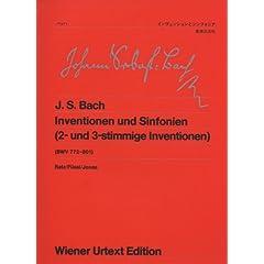 ウィーン原点版 J.S.バッハ:インヴェンションとシンフォニア 42aのAmazonの商品頁を開く
