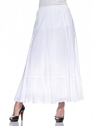 Fairly Falda larga (Blanco)