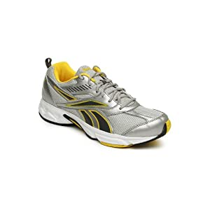 Reebok Men Silver Toned & Grey Active Sport II Sports Shoes