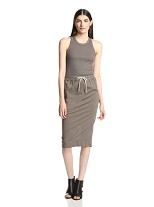 Rick Owens DRKSHDW Women's Pillar Skirt (Dna Dust)