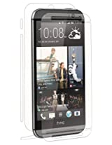 BodyGuardz UltraTough Full Body Protector with Anti-Microbial for HTC One M8 - Retail Packaging - Optically Clear
