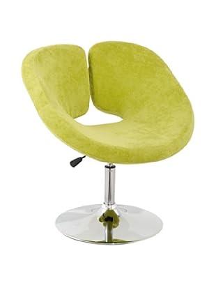 International Design USA Pluto Adjustable Wool Leisure Chair, Green