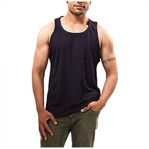 Unisopent Designs Men's Round Neck Sleeveless Cotton Sando