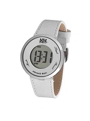 ARMAND BASI A0961L01 - Reloj Señora mov cuarzo correa piel Blanco