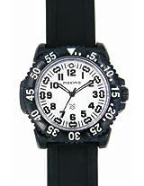 Maxima Aqua Sport Analog White Dial Men's Watch - 12020PPGW