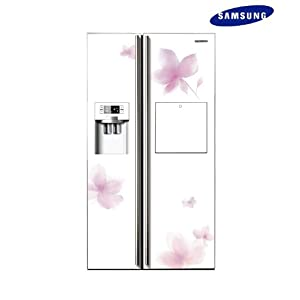 Samsung 585L RS21HPLFH1/XTL Side By Side Door Refrigerator-Fore White