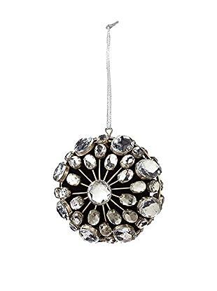 Sage & Co. Silver Jewel Medallion Clasp Ornament