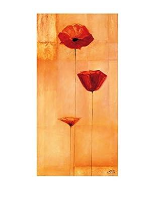 ArtopWeb Panel de Madera Heinemann Poppy Elegance IV