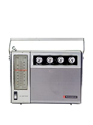 Vintage Panasonic Radio, Silver