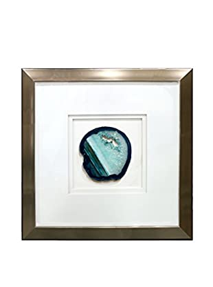 Star Creations Shadowbox with Teal Geode