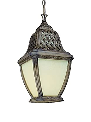 Troy Lighting Biscayne Fluorescent Hanging Lantern, 1-Light