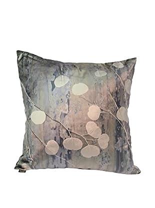 Aviva Stanoff Eucalyptus on Beetle Cobble Pillow, Cobble