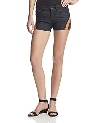 Chalayan-Mavi Women's Bonded Denim Short (Rinse/Orange)
