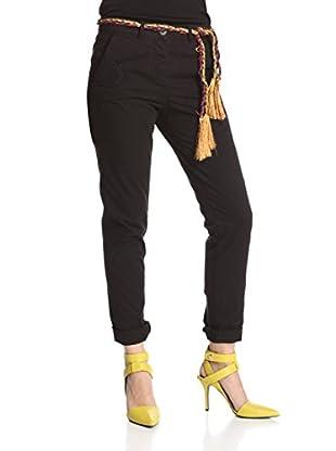 Desigual Pantalón China (Negro)