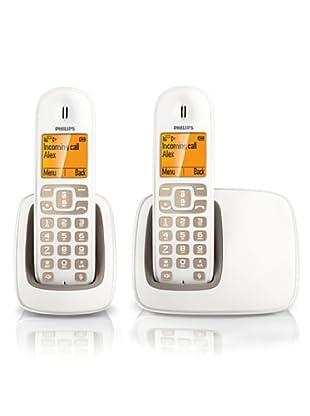Philips Teléfono Dúo Manos libres CD2902WB