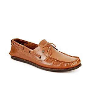 Franco Leone Remarkable Brown Boat Shoes