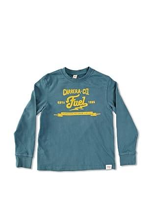 Carrera Jeans Camiseta Bambino M/L Girocollo (Verde)