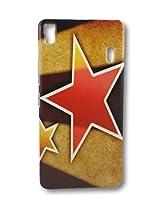 BlueArmor Designer Soft Fancy Back Cover Case For Lenovo K3 Note / Lenovo A7000 - Design 18