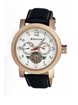 Heritor Automatic Uhr Millennial Herhr1503 schwarz 49  mm