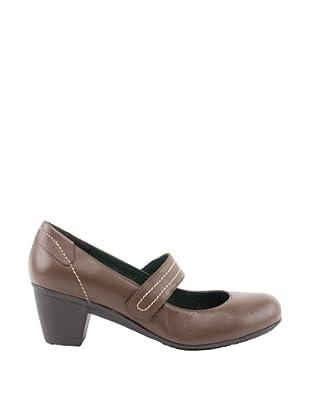 Liberitae  Zapatos Salón  Correa (Marrón)