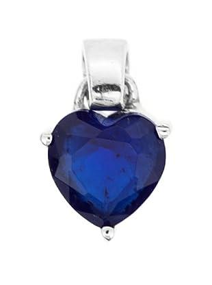 Luxenter Colgante Corazón Zafiro Circonita