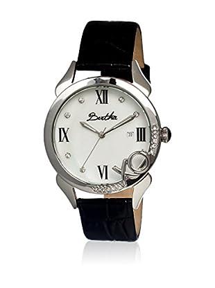 Bertha Uhr mit Japanischem Quarzuhrwerk Xo schwarz 41 mm