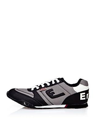 Erase Zapatillas Deportivas con Cordones (Negro)