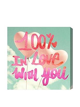 Oliver Gal Artist Co. Love You One Hundred, Multi, 20