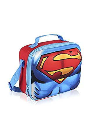 SUPERMAN Bolsa porta alimentos 3D Superman