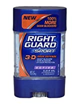 Right Guard Sport Gel Active -- 3 oz