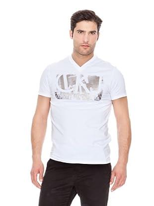 Calvin Klein Jeans Camiseta Stretch Logotipo M / C (Blanco)