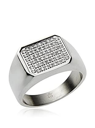 Blackjack Jewelry Ring Encrusted Square