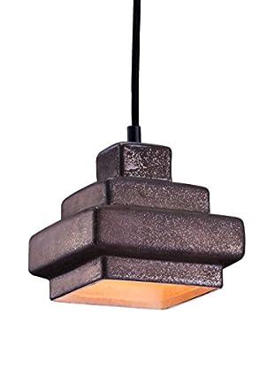 Zuo Wellingston Ceiling Lamp, Rustic Black