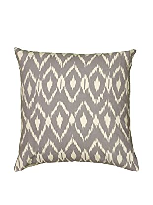 Rizzy Home Grey Ikat Throw Pillow