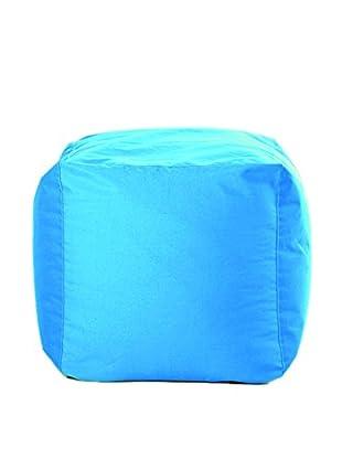 Sitting Bull Puff Cube Turquesa