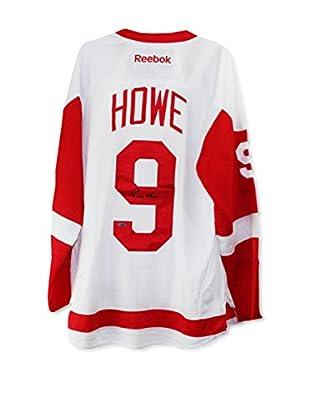 Steiner Sports Memorabilia Gordie Howe Signed White Replica Redwings Jersey