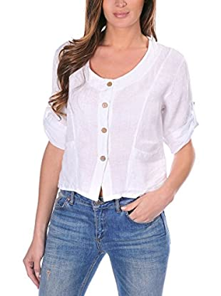 100% lino Camisa Mujer Denise