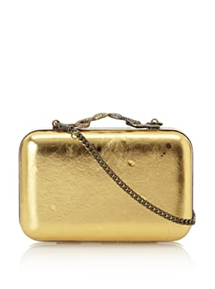 House of Harlow 1960 Women's Marley Minaudiere (Gold Metallic)