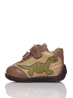 Billowy Botas Dinosaurio (Beige)