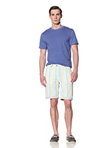 Tailor Vintage Men's Reversible Short (Beach Stripe)