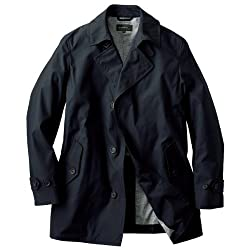 DiAPLEX Stylish Short Coat: Black