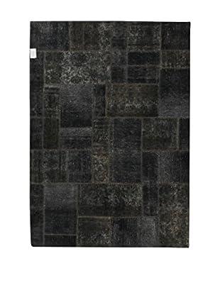 Design Community By Loomier Teppich Revive Vintage Patch anthrazit 169 x 239 cm