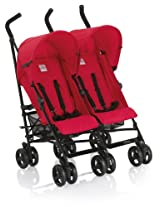 Inglesina USA Twin Swift Stroller, Chili